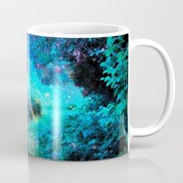 Fantasy Garden Path Turquoise Purple Coffee Mug