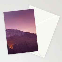 Cold Winters Night Stationery Cards