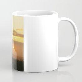 Sunrise on a foggy Battlefield Coffee Mug
