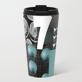 BLUE #THE 7 SERIES Travel Mug
