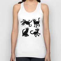 musa Tank Tops featuring 4cats by musa