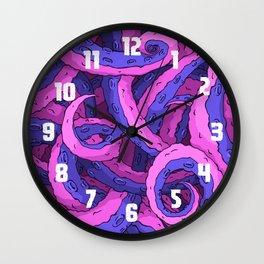 Toxic Tentacles Wall Clock