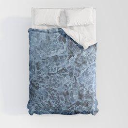 Broken Glass Abstract Pattern Comforters