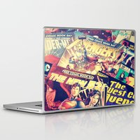 comics Laptop & iPad Skins featuring Comics by Miss-Lys