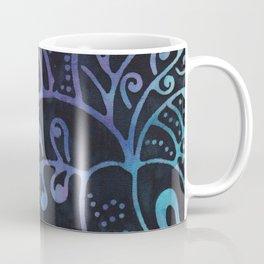Blue Batik 12 Coffee Mug