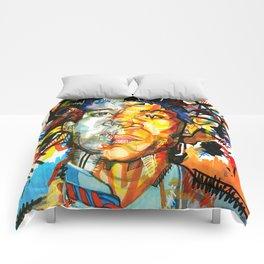 Basquiat Comforters