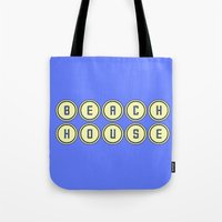 dc Tote Bags featuring dc by kjio