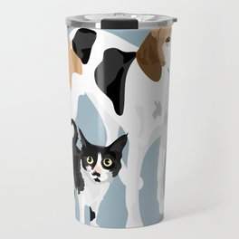 Kitten and Lulu Travel Mug