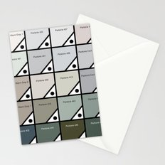 50 Shades Of Pantone Grey Stationery Cards