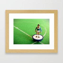 Everton Subbuteo Player 1986 Framed Art Print