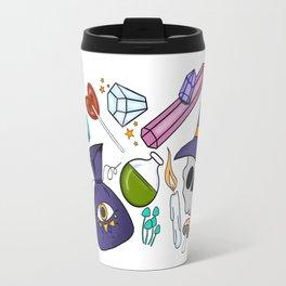 Something Doodled this way come Travel Mug