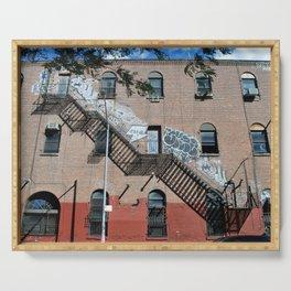 Williamsburg Brooklyn Building Serving Tray