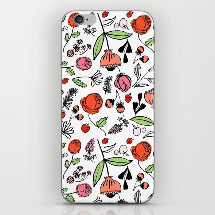 Spring Bouquet iPhone Skin