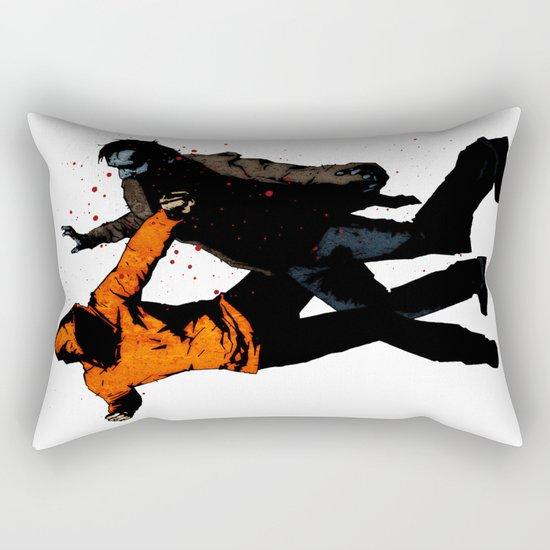 Zombie Fist Fight! Rectangular Pillow
