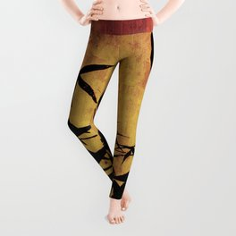 Bamboo parchment Leggings