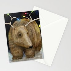 Glow me the Way : Christmas Lights Stationery Cards