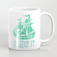 I Ship It - Watercolour Mug