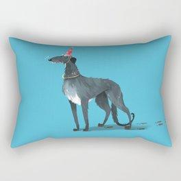 Party Animal : Scottish Deerhound Rectangular Pillow