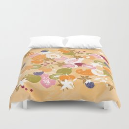 Fruit Salad Duvet Cover