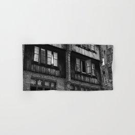 Windows in an Old Bar Hand & Bath Towel