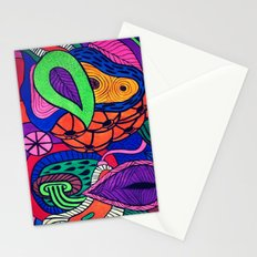 Arstract fruits Stationery Cards