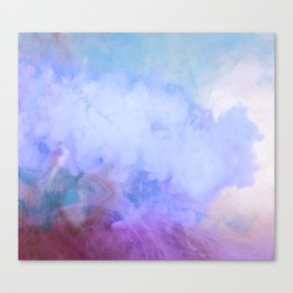 DREAMY RAINBOW CLOUDS Canvas Print
