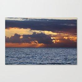 North sea bliss Canvas Print