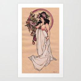 Fancy Feast Art Print