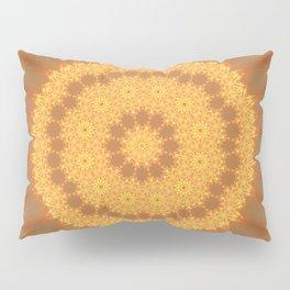 Kaleidoscope Of Gold Pillow Sham