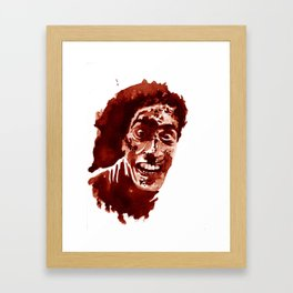 Who's laughing now? Framed Art Print