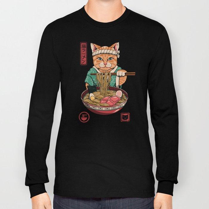 Neko Ramen Long Sleeve T-shirt
