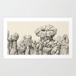 Aquasipho Tripodia Landscape Series Art Print