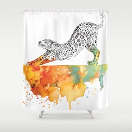 Jag Rise Shower Curtain