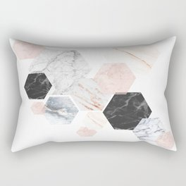 Lost in Marble Rectangular Pillow