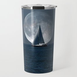 Full Moon Sailing Travel Mug