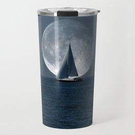 Full Moon Sailing Travel Mug