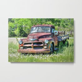 1954 Chevy 6400 Metal Print