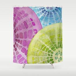Microscopic: Diatoms Shower Curtain