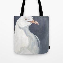 Herring Gull Portrait Bird Beach Tote Bag