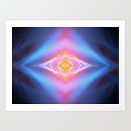 Third Eye Illumination Art Print