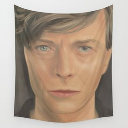 Bowie Portrait - Fan Art Wall Tapestry