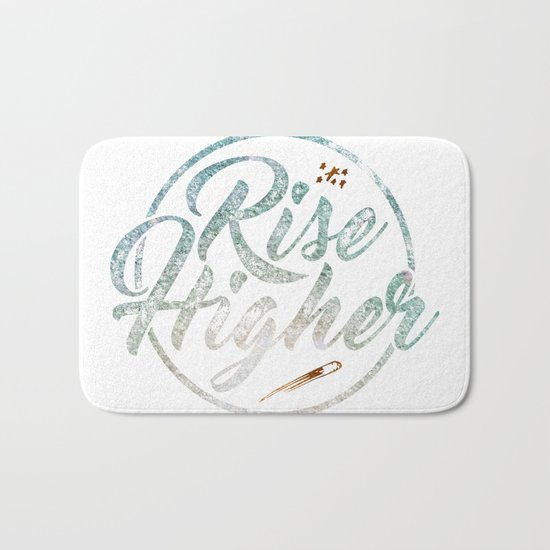 Rise Higher Shooting Star Bath Mat