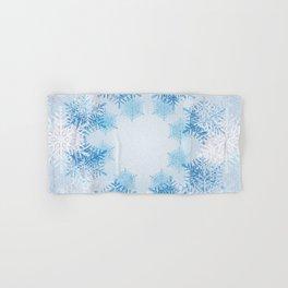 Frost on the Window Hand & Bath Towel
