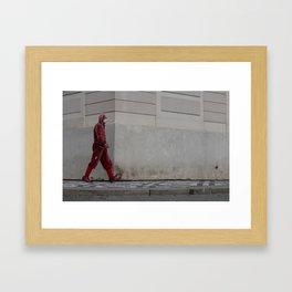 Jester's Walk Framed Art Print