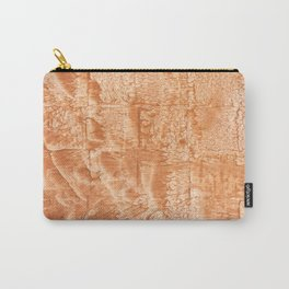 Peach nebulous watercolor Carry-All Pouch