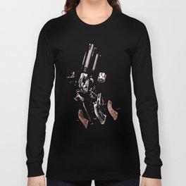 Exploded Gun Long Sleeve T-shirt