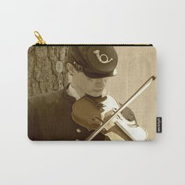 Civil War Fiddle Player Carry-All Pouch
