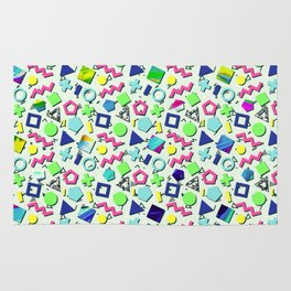 Totally 80s Pattern Rug