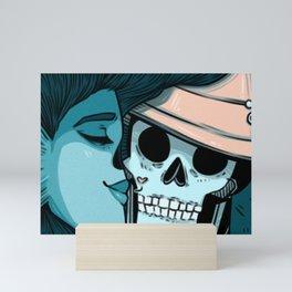 Kiss of Admiration Mini Art Print
