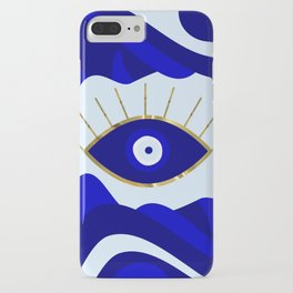 Lava All Seeing Evil Eye iPhone Case